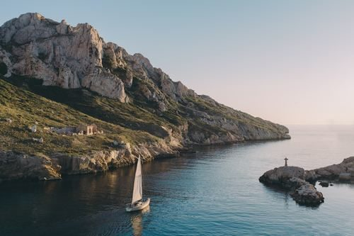 déménager à Marseille - les calanques