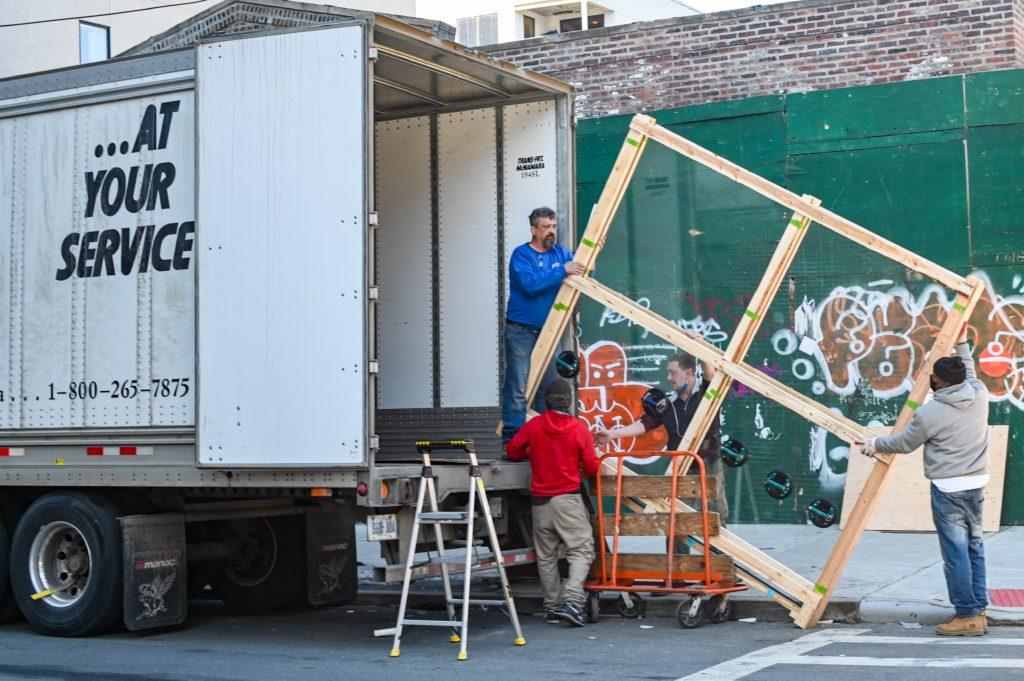 Déménagement Lorient camion
